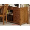 Liberty Furniture Hampton Bay Computer Credenza in Oak