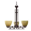<strong>Yosemite Home Decor</strong> Half Dome 3 Light Mini Chandelier