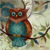 Yosemite Home Decor Revealed Artwork Owl II Original Painting on Canvas