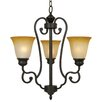<strong>Yosemite Home Decor</strong> Royal Arches 3 Light Mini Chandelier