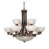 <strong>Yosemite Home Decor</strong> Sequoia 15 Light Chandelier