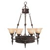 <strong>Yosemite Home Decor</strong> Isabella 11 Light Chandelier