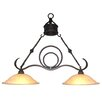 Yosemite Home Decor Isabella 2 Light Kitchen Island Pendant