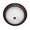 <strong>Yosemite Home Decor</strong> Belen 3 Light Flush Mount