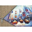 <strong>Yosemite Home Decor</strong> Revealed Artwork Unzip The City I Original Painting on Canvas
