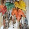 Yosemite Home Decor Revealed Artwork Autumn Leaves Original Painting on Canvas