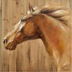 <strong>Yosemite Home Decor</strong> Revealed Artwork Equine Profile II Original Painting on Canvas
