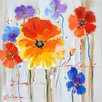 Yosemite Home Decor Revealed Artwork Primary Floral II Original Painting on Canvas