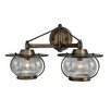 <strong>Jamestown 2 Light Vanity Light</strong> by Vaxcel