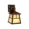 <strong>Mission 1 Light Outdoor Wall Lantern</strong> by Vaxcel