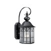 Vaxcel Tudor Outdoor 1 Light Wall Lantern