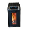 Lifesmart Life Pro Series 1500 Watt 110 Volt 15 Amp Compact Infrared Electric Heater with Remote