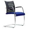 Dauphin Visita Guest Chair with Sled Base