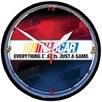 "NASCAR 12.75"" Round Clock - Everything Game"