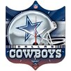 "NFL 13"" High Def Plaque Clock"