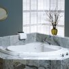 "Jacuzzi® Bellavista 59.75"" x 59.75"" Corner Right Hand Illuma Whisper Whirlpool Tub"