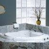 """Jacuzzi® Bellavista 59.75"""" x 59.75"""" Corner Whirlpool Tub"""