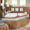 "Jacuzzi® Fuzion 65.75"" x 65.75"" Corner Whirlpool Tub"
