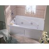 """Jacuzzi® Cetra® 60"""" x 36"""" Skirted Whirlpool Tub with Right Drain and Heater"""
