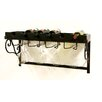 Xiafeng 6 Bottle Wall Mounted Wine Rack