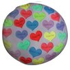 Dogzzzz Round Hearts Dog Pillow