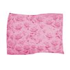 Dogzzzz Pink Rose Pet Throw