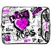 Designer Sleeves Love Rocks Designer MacBook Sleeve