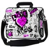 Designer Sleeves Executive Sleeves Love Rocks PC Laptop Bag