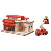 <strong>City Fire Station</strong> by Plan Toys