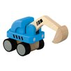 <strong>City Mini Excavator</strong> by Plan Toys