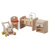 <strong>Dollhouse Nursery</strong> by Plan Toys