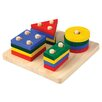 Plan Toys Preschool Geometric Sorting Board