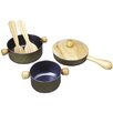 <strong>Large Scale Cooking Utensil Set</strong> by Plan Toys