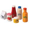 <strong>Large Scale Food and Beverage Set</strong> by Plan Toys