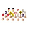 <strong>City Set of Traffic Signs and Lights</strong> by Plan Toys