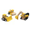 <strong>City Road Construction Vehicle Set</strong> by Plan Toys