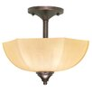 <strong>Nuvo Lighting</strong> Normandy Semi Flush Mount