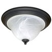 <strong>Nuvo Lighting</strong> Castillo 2 Light Flush Mount