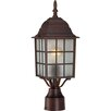 <strong>Nuvo Lighting</strong> Adams 1 Light Outdoor Post Lantern