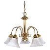 <strong>Ballerina 5 Light Chandelier</strong> by Nuvo Lighting
