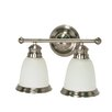 Palladium 2 Light Vanity Light