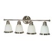 Nuvo Lighting Palladium 4 Light Vanity Light