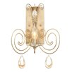 Varaluz Elysse 1 Light Wall Sconce