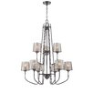Varaluz Meridian 9 Light Chandelier
