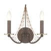 Varaluz Swept Away 2 Light Wall Sconce