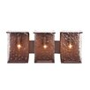 Rain Recycled 3 Light Bath Vanity Light