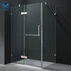 "Vigo 24"" Pivot Door Swing Frameless Shower Enclosure"
