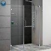 "Vigo 66"" W x 72"" H Pivot Shower Door"