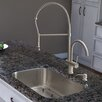 """<strong>Vigo</strong> Platinum 30"""" x 18"""" All in One Undermount Kitchen Sink with Faucet"""