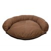 Zoey Tails Saddle Stitch Twill Bolster Dog Bed